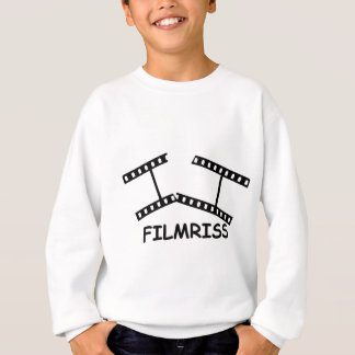 black Filmriss icon Sweatshirt
