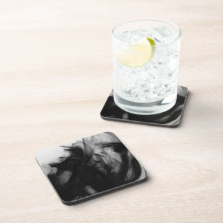 Black Fire IV Coasters Set by Artist C.L. Brown