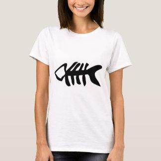 black fish fishbones T-Shirt