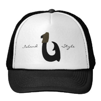 Black Fish Hook, Island, Style hat