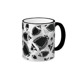Black Fish Ringer Mug