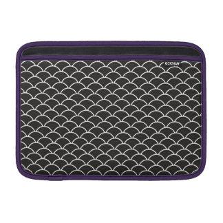 Black Fish Scales MacBook Sleeve