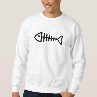 Black fishbone sweatshirt