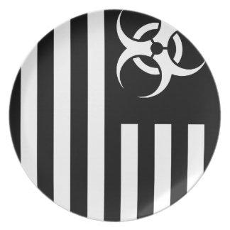 Black Flag Biological Outbreak - Dinner Plate
