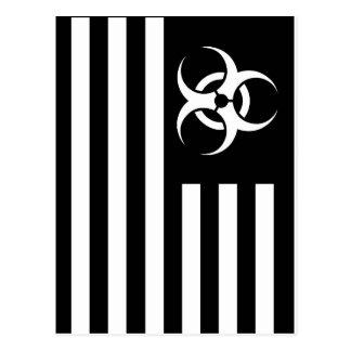 Black Flag Biological Outbreak - Postcard
