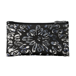 Black Flame Makeup Bag
