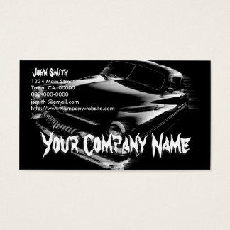 Black Flash Car Business Card