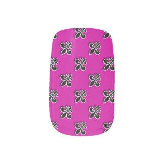 Black Fleur de Lis Minx® Nail Wraps