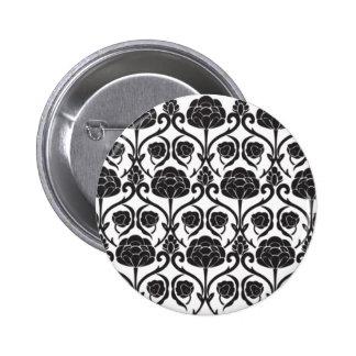 Black Fleur-de-Lis Pins