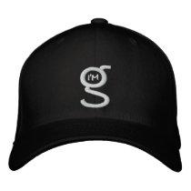 Black Flex Fit Cap w White I'm G Logo