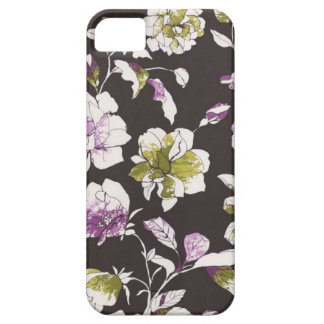 Black Floral iPhone 5 Covers