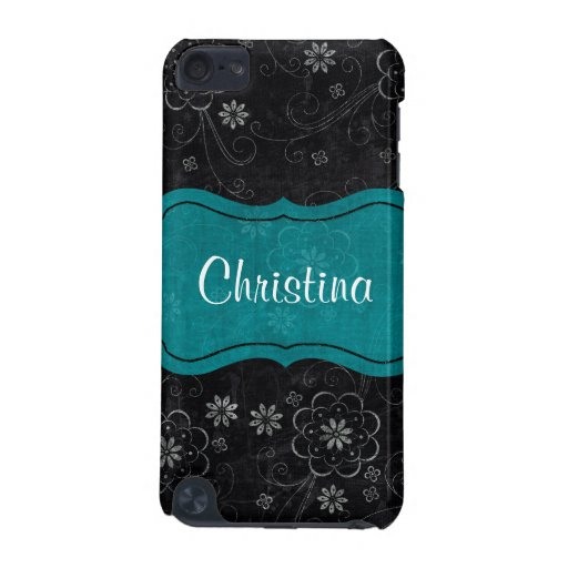 Black Floral IPod Touch Speck Case iPod Touch 5G Covers