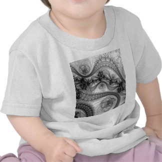 black floral lace t-shirts