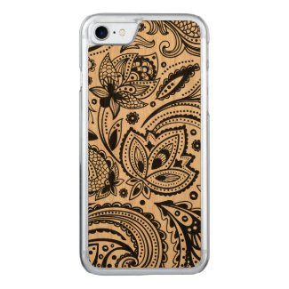 Black Floral Paisley Lace Damasks 2
