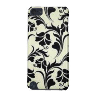 black floral standard iPod touch 5G cover