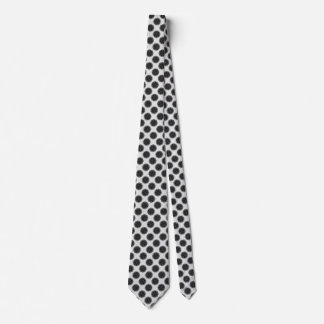 Black Flower Ribbon Neck Tie