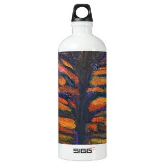 Black Flower(Symbolic Expressionism) SIGG Traveler 1.0L Water Bottle