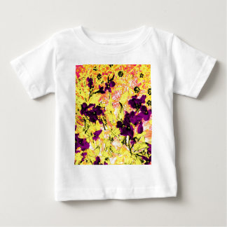 Black Flowers on a Sunny Day Baby T-Shirt