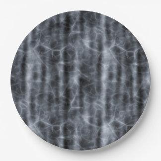 BLACK FOG ~ 9 INCH PAPER PLATE