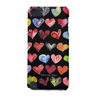 Black Follow Your Heart iPod Touch Speck Case