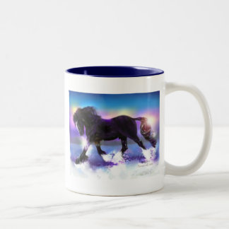 Black Foot Shire Two-Tone Coffee Mug