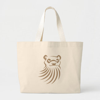 Black Footed Ferret in Swish Drawing Style Bags
