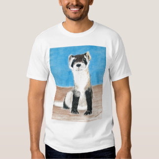black footed ferret tee shirt