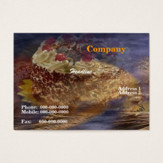 Black Forest Cake Business Card