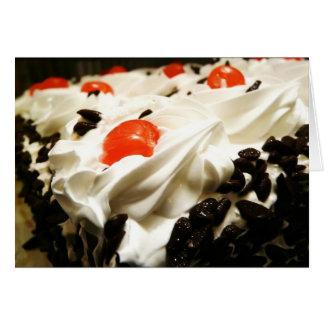 Black Forest Cake Card