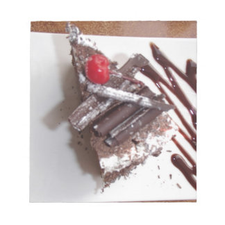 Black forest cake notepad