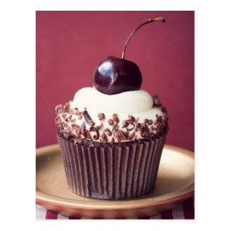 Black forest cupcake post cards