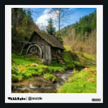 """Black Forest Grist Mill Germany Wall Decal<br><div class=""""desc"""">Black Forest Grist Mill in Germany.  frontiernow.com</div>"""