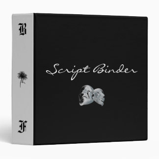 Black Forest Script Binder (Gray)