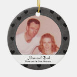 Black Forever In Our Hearts:  Memorial: Ornament