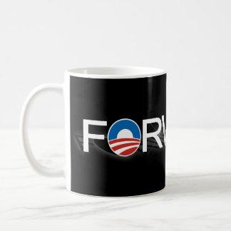 Black Forward Obama 2012 Coffee Mug