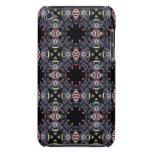 Black Fractal Art Pattern Case-Mate iPod Touch Case
