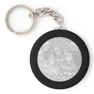 Black Frame Keychain