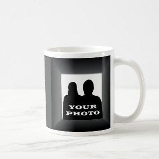 Black Frame Your Photo Mug Template