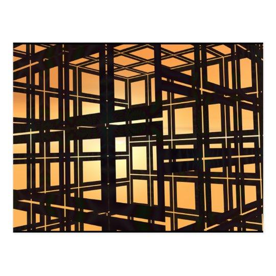 Black Frames Postcard