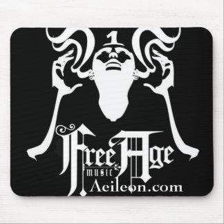 Black Free Age Mousepad