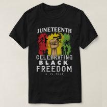 Black Freedom Juneteenth T-Shirt