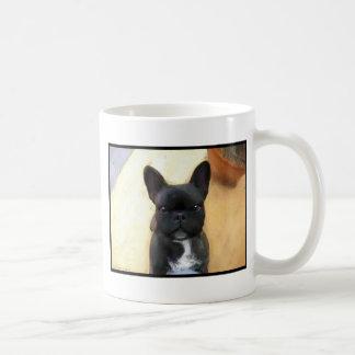 Black French Bulldog Art mug