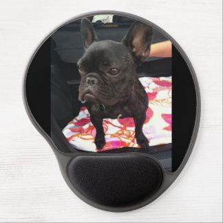 Black French Bulldog Gel Mouse Pad