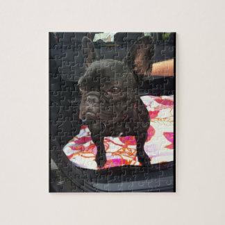 Black French Bulldog Puzzles