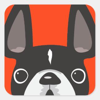 Black French Bulldog Stickers