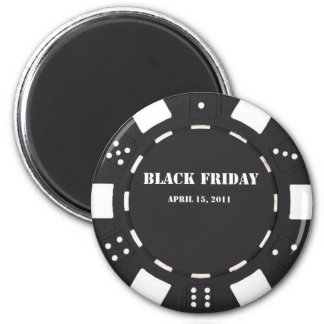 Black Friday 2 Inch Round Magnet
