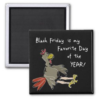 Black Friday 2 Inch Square Magnet