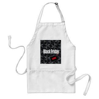 Black Friday Adult Apron