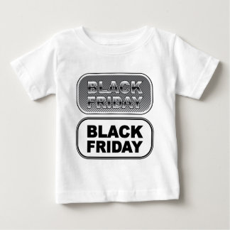 Black Friday button silver Infant T-shirt