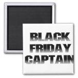 Black Friday Captain Refrigerator Magnet
